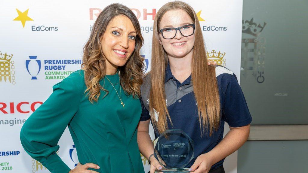 Congratulations to Daisy Hibbert-Jones – Community Volunteer of the Year….