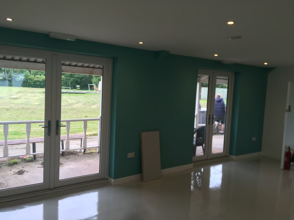 Congratulations to Capenhurst on the development of their first clubhouse…..