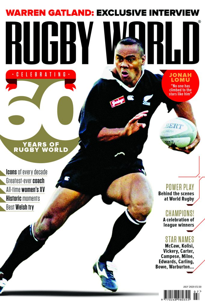 Rugby World recognise Caldy's 2019/20 acheivements…..