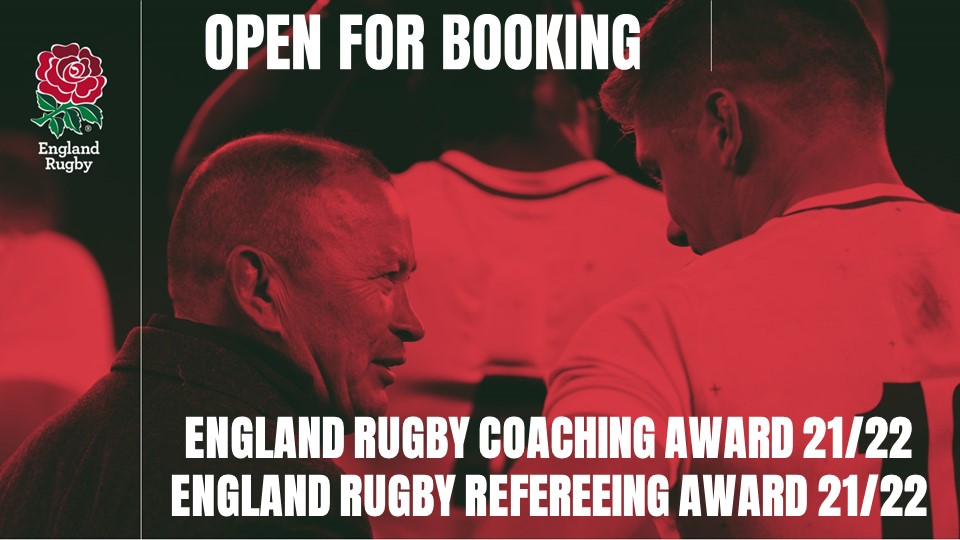 The 2021/2022 England Rugby Coaching and Refereeing Awards are now open…